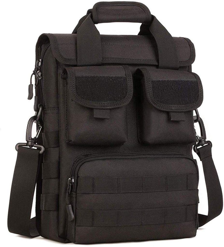 CamGo Tactical Briefcase, Laptop Messenger Bag
