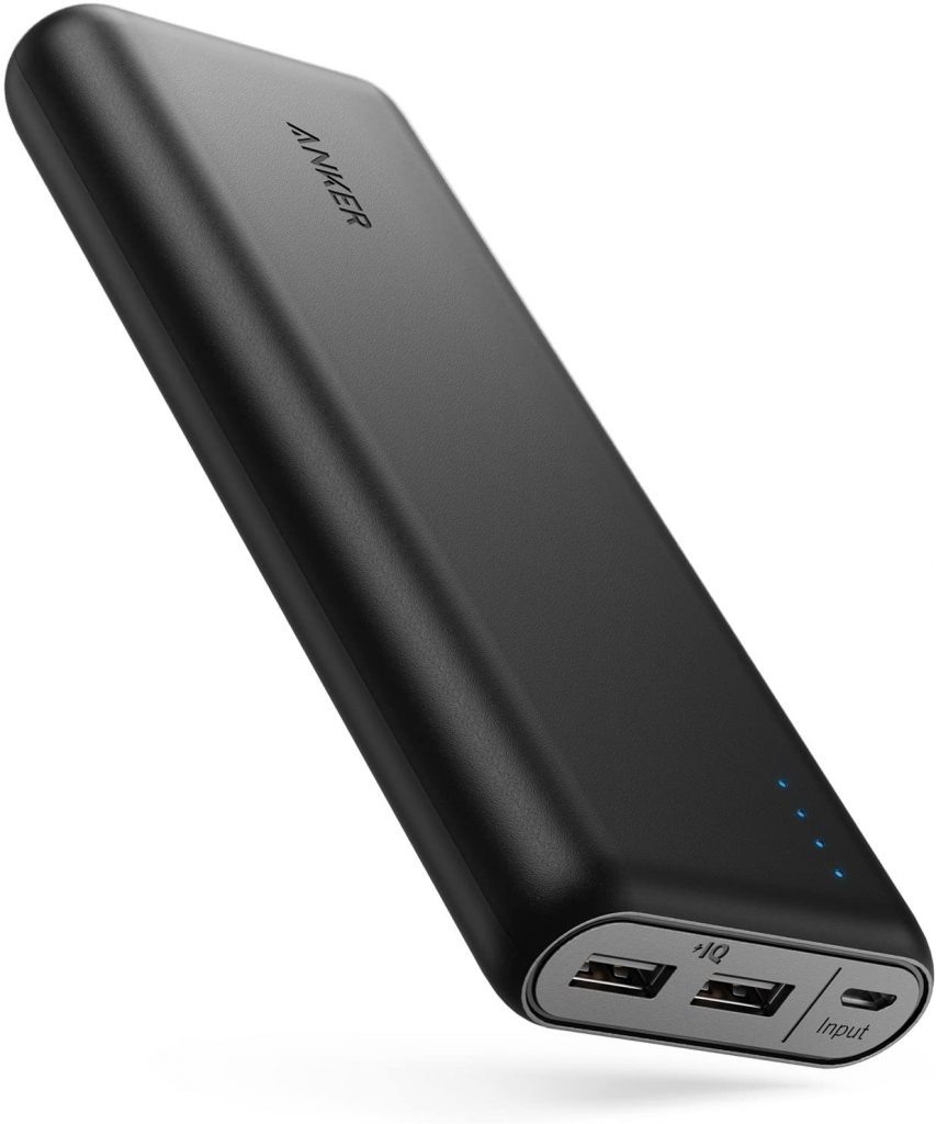 Anker PowerCore 20, Portable Charger Ultra High Capacity Power Bank