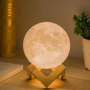 Moon Lamp, Touch Control Design