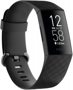 Fitbit Charge 4 Fitness, Built-in GPS, Heart Rate, Sleep & Swim Tracking