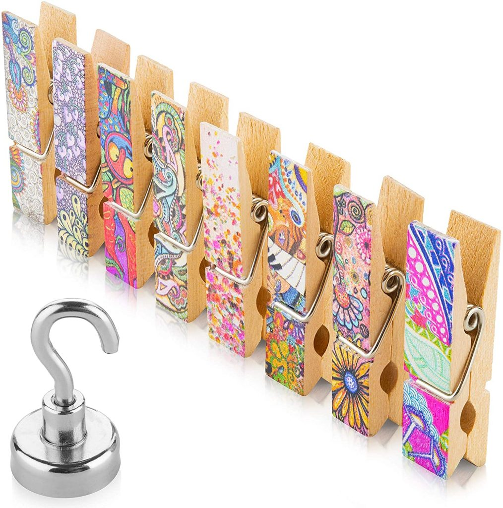 Fridge Magnets Clips, Strong Magnetic Hook