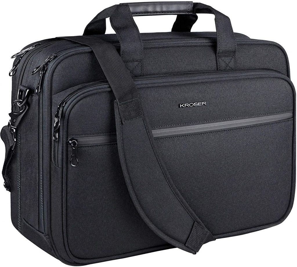 Laptop Bag, Expandable, Water-Repellent