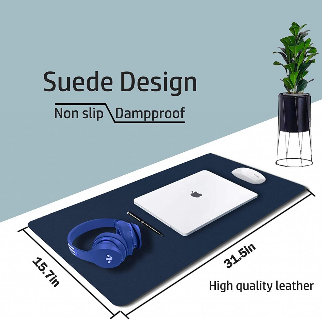 Leather Desk Pad Protector