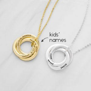 Necklace with Kids' Names