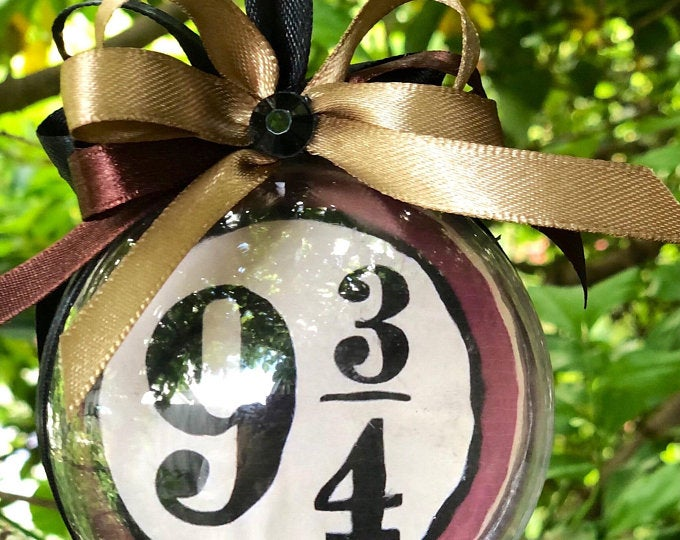 Platform 9 ¾ Christmas Bauble