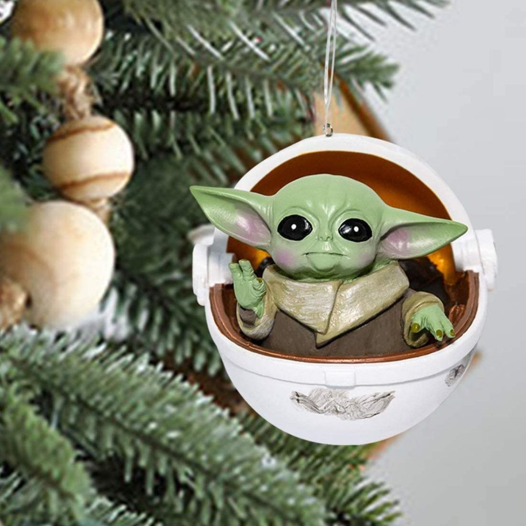Star Wars: The Mandalorian's The Child in Hovering Pram ornament!