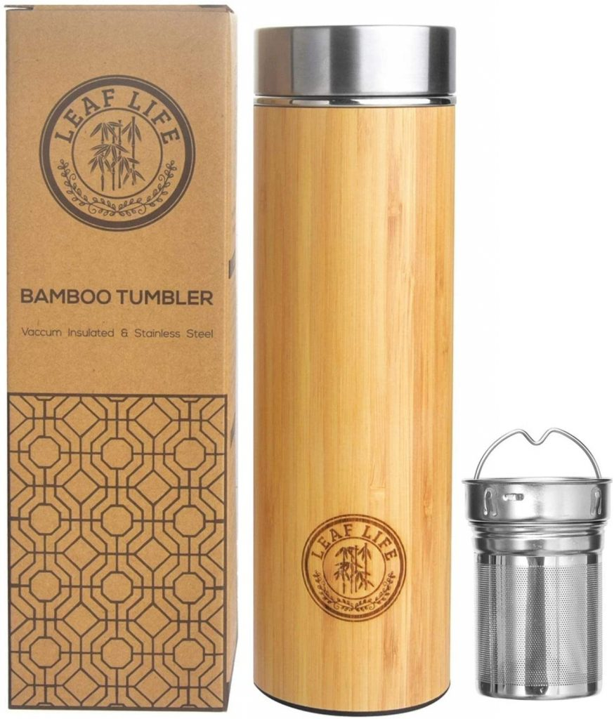 Tumbler with Tea Infuser and Strainer