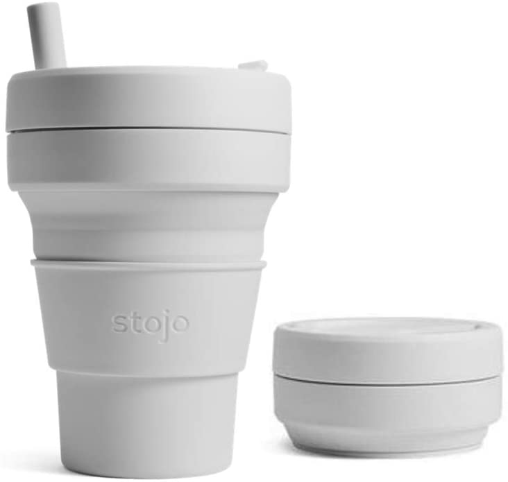 Stojo Collapsible Coffee Cup, Reusable, Travel Cup