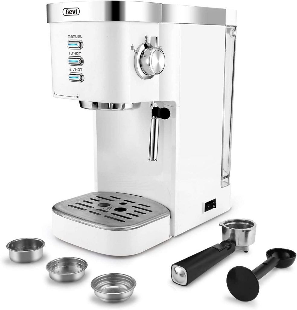 Espresso Machines Fast Heating Cappuccino Machine 20 Bar with Milk Frother