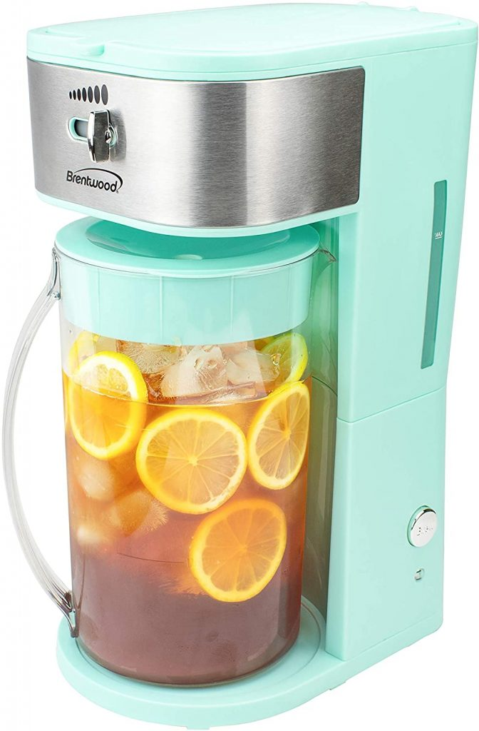 Iced Tea and Coffee Maker, 64 Ounce Pitcher