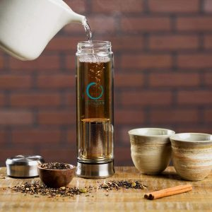 Stainless Steel Tea Tumbler with Infuser