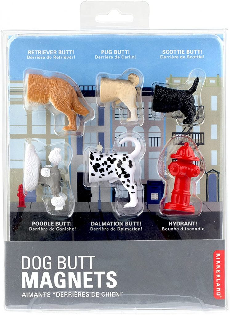 Kikkerland Dog Butts Animal Magnets