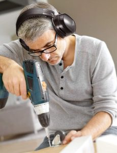 Noise Reduction Safety Earmuffs