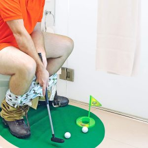 Toilet Time Golf Game