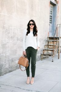 Closed Toe Black Mules and Joggers