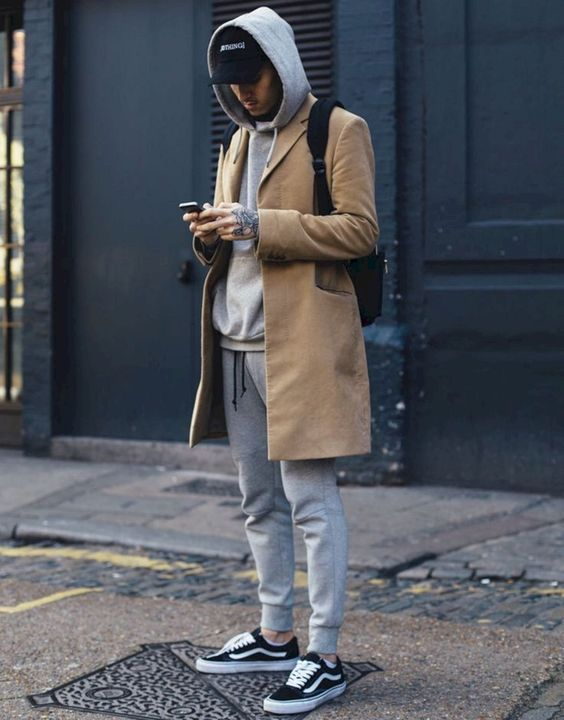 Hoodie with a Cardigan