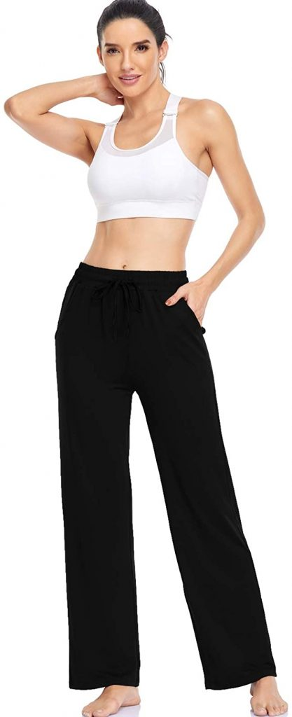 Sporty Look with Sweatpants