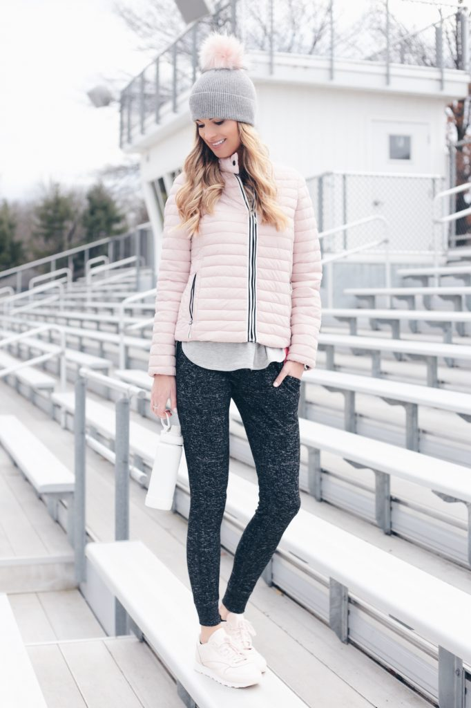 Winter Athleisure and Cozy Look