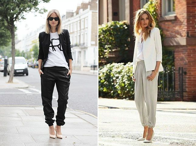 How to wear jogger pants to work (10 Outfit Ideas this 2021)