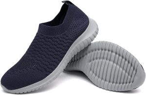 Knitted Slip-On Sneakers