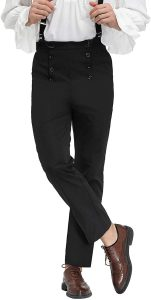 High-Waisted Trousers (Men)