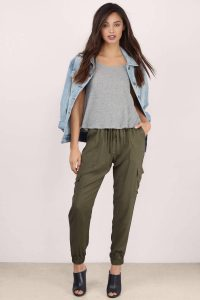 Check Other Jogger Pants Of Dark Solid Colors