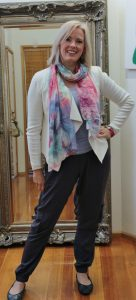 Claim The Day With A Scarf On!