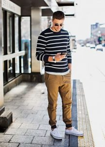 Long Sleeves and Stripes