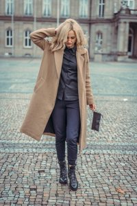 Long-sized Coats Over Your Joggers Are Vibrant